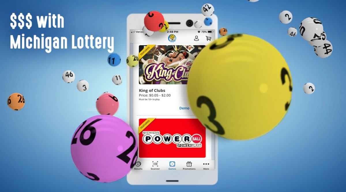 michigan lottery app and games