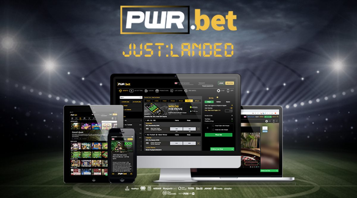 PWR.Bet New Online Sportsbook Launch