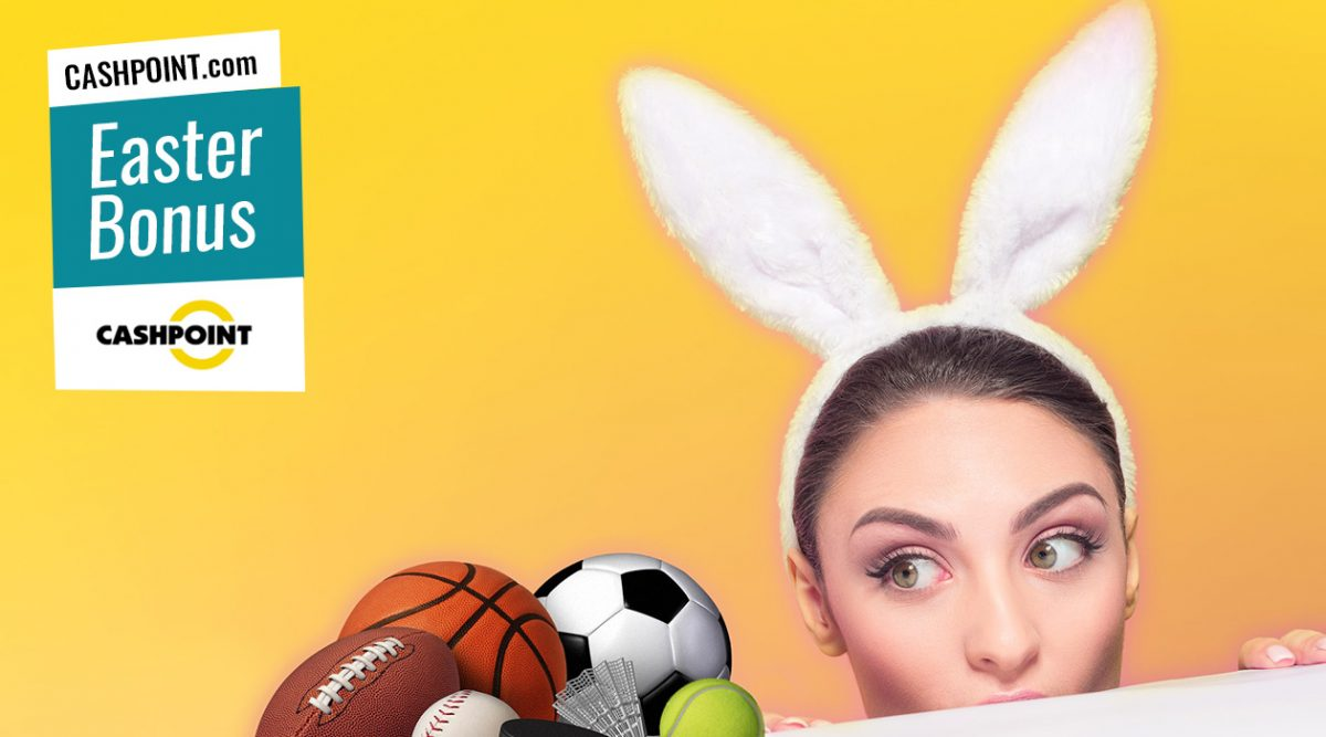 CASHPOINT.com Easter Welcome Bonus