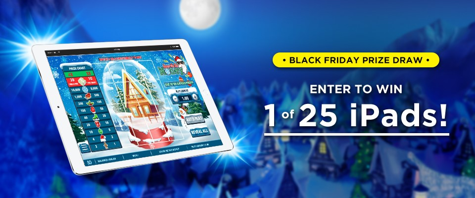 black friday ipad giveaway PAiLottery