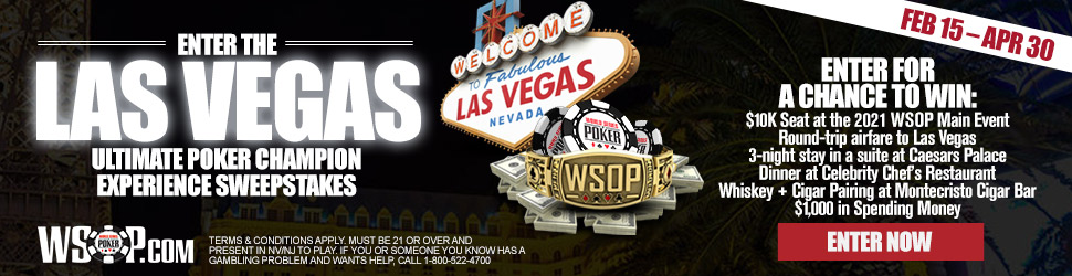 WSOP Ultimate Poker Champion Experience Sweepstakes