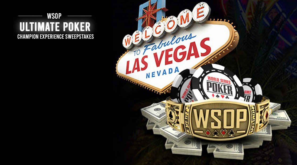 WSOP Ultimate Poker Champion Experience Sweepstakes is Back!