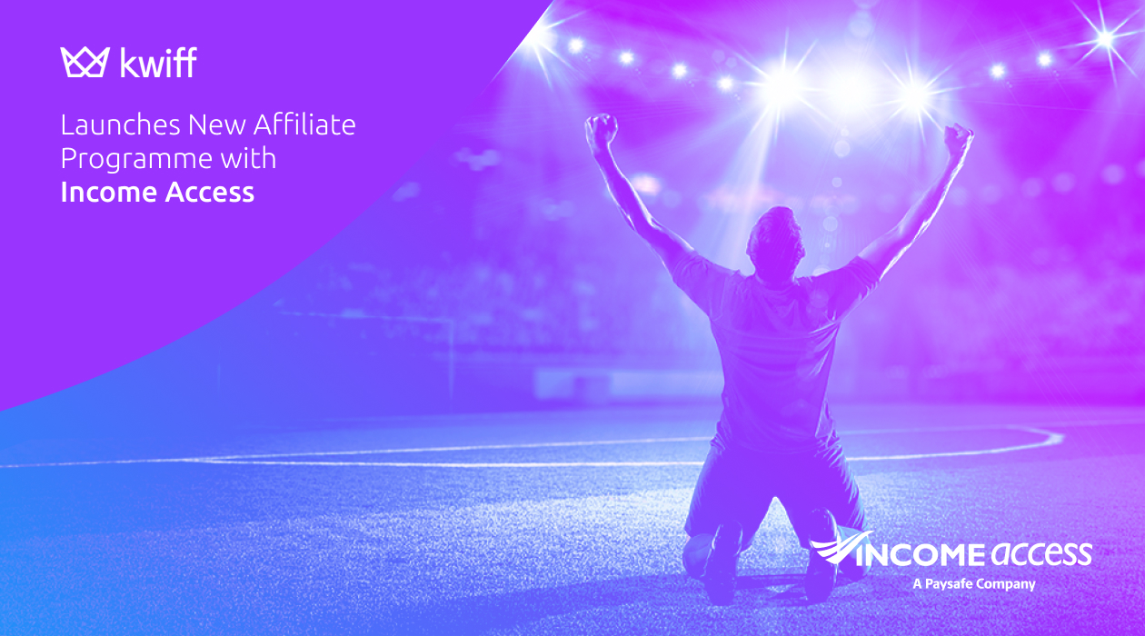kwiff Launches New Affiliate Programme with Income Access