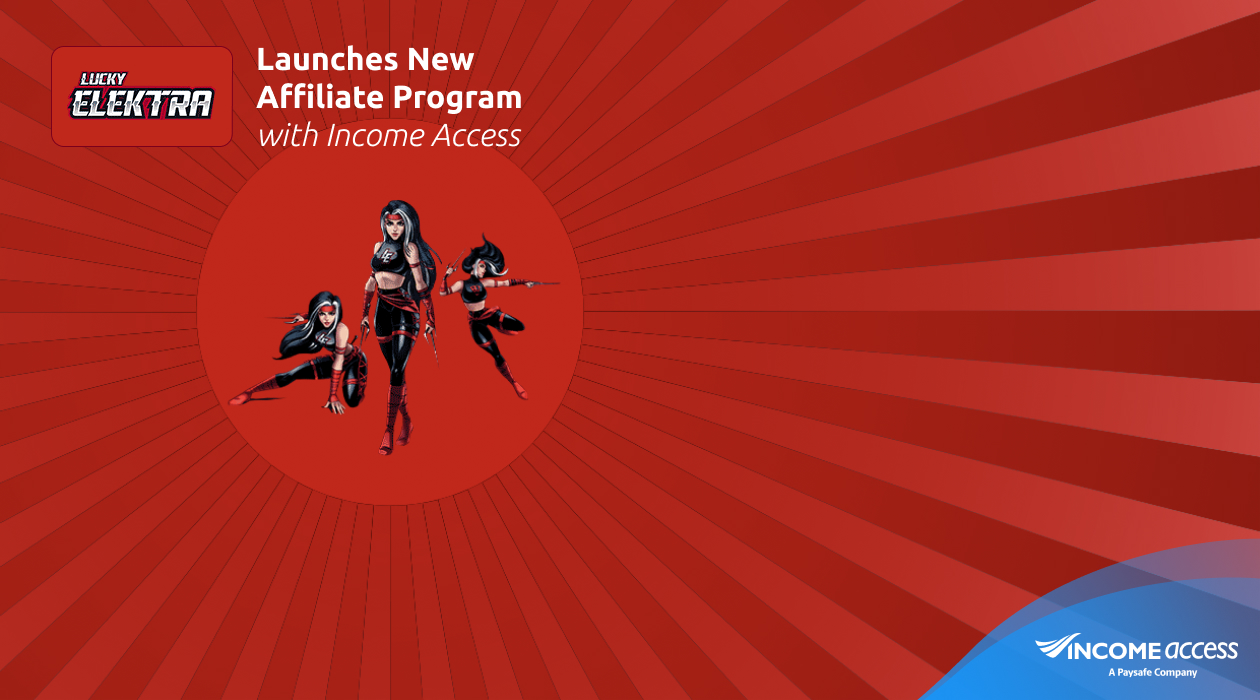 LuckyElektra Launches Affiliate Programme with Income Access