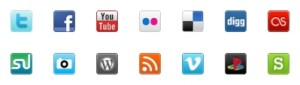 social-media-bookmark-icons