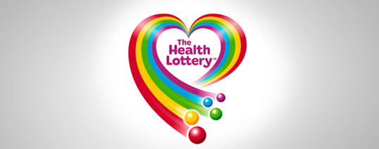 The Health Lottery Logo